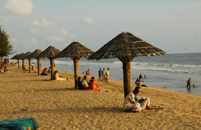 Cherai Beach in Kerala