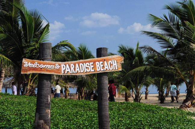 plage paradiso paradise beach pondicherry