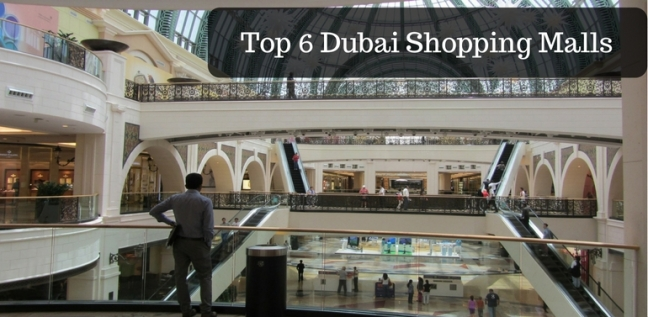 Dubai top Shopping malls