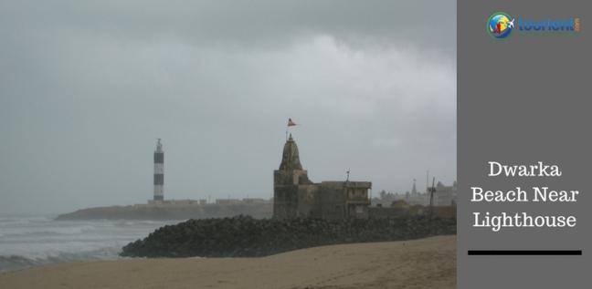 Dwarka Beach near Lighthouse